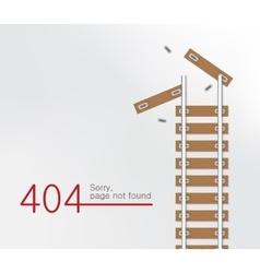 Page not found error 404 vector