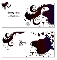 Fashion Banner for Make Up Cosmetic Shopping vector image