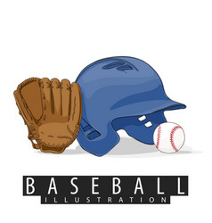 outfit for baseball vector image vector image
