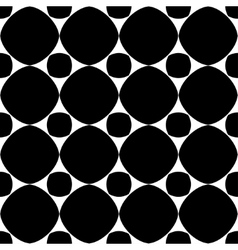 Polka dot geometric seamless pattern 2303 vector image vector image
