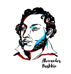 Alexander pushkin vector