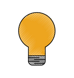 bulb light idea creativity innovation business vector image