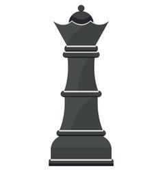 Chess figure queen vector