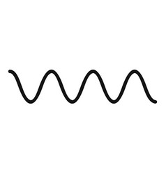 equalizer electronic icon simple black style vector image