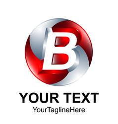 Initial letter b logo design template element vector