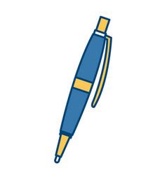 luxury executive pen vector image