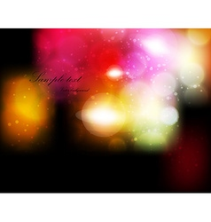Romantic Blurred Background vector image