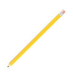 yellow pencil icon stock vector image