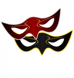 realistic illustration of carnivals mask vector image vector image