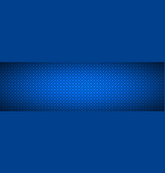 blue abstract banner with outline squares vector image