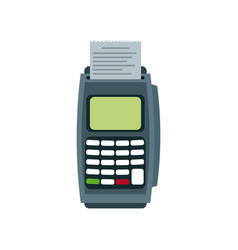 Dataphone transaction payment buying commerce vector