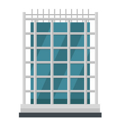 House icon flat style vector