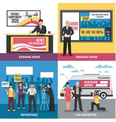News design concept vector