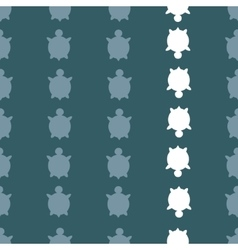 Seamless turtle pattern vector