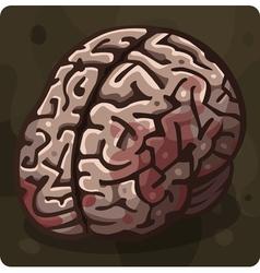 Symbol 6 Brain vector image