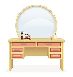 Vanity table 04 vector