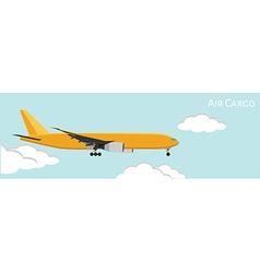 Air cargo vector image