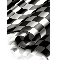 Checkered Background vertical vector image vector image