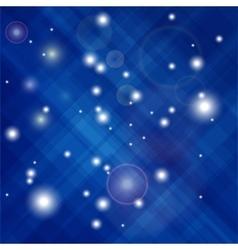 Blue Confetti Isolated vector
