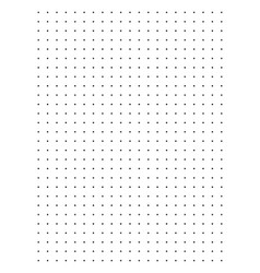 Full page centimeter dot paper vector