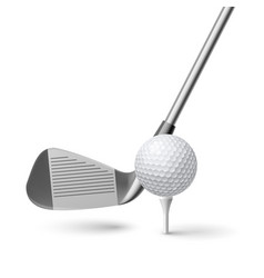 golf vector image