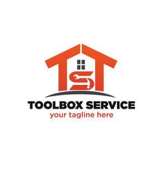 Home service logo designs vector