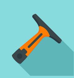 Indoor car wash tool icon flat style vector