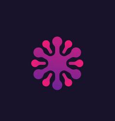 Neuron logo vector