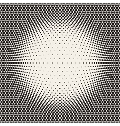 Seamless Halftone Circles Bloat Pattern vector