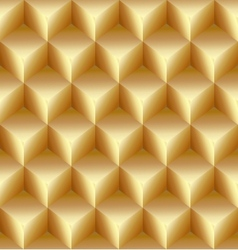abstract gold seamless pattern made from stacked vector image