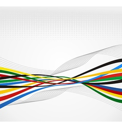 Olympics Games abstract background vector image vector image