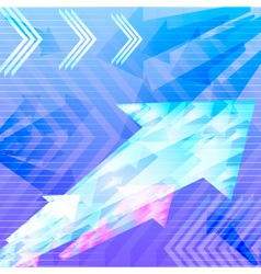 abstract background arrow vector image