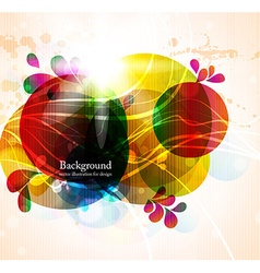 Abstract Background in Color vector image vector image