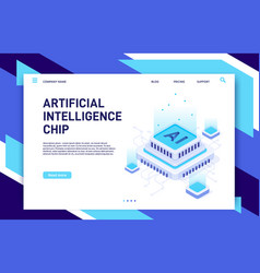Artificial intelligence chip machine learning vector