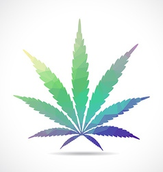 Cannabis leaf vector