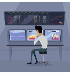 Modern Online Trading Technology vector