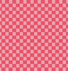 red seamless fabric texture pattern vector image vector image