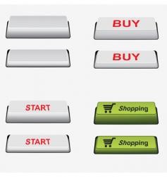 set button vector image