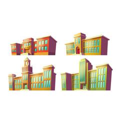 set of cartoon of various vector image