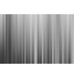 striped halftone background monochrome vector image