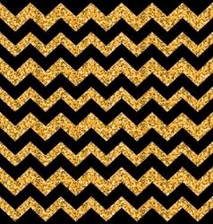 Glitter Seamless Zigzag Texture vector image vector image
