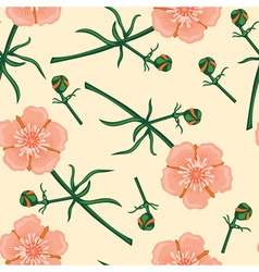 buttercup pattern vector image vector image