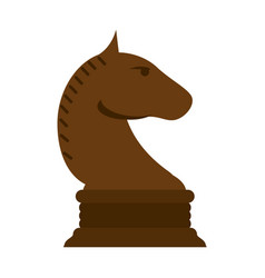 knight chess icon image vector image vector image