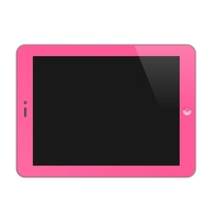 Realistic Concept Of Tablet PC Blank Screen vector image vector image