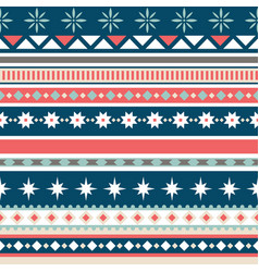 beautiful seamless pattern with stripes vector image