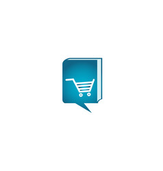 cart for shopping symbol a shape online shop in vector image