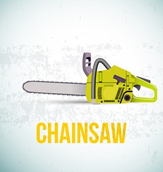 Chainsaw isolated vector image