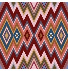 Color Abstract Retro Zigzag Background vector