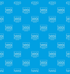equalizer monitor pattern seamless blue vector image