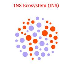 Ins ecosystem ins logo vector